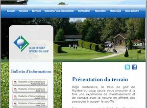 Club de Golf de Rivière-du-Loup - Bas-Saint-Laurent, Notre-Dame-du-Portage