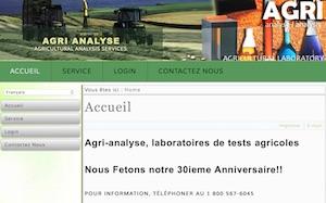 Agri-Analyse Laboratoire Agricole - Estrie / Canton de l'est, Sherbrooke (Lennoxville)
