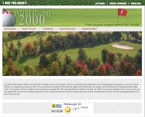 Le Club International 2000 - Montérégie, Saint-Bernard-de-Lacolle