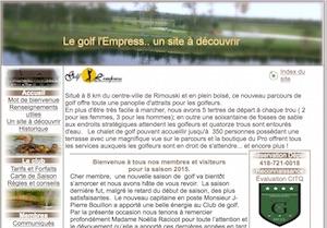 Club de Golf L'empress - Bas-Saint-Laurent, Rimouski