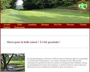 Club de Golf les Ruisseaux - Laurentides, Mont-Tremblant