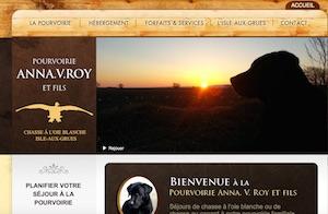 Pourvoirie Anna V. Roy - Chaudière-Appalaches, Isle-aux-Grues (Montmagny)