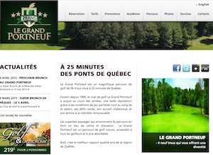 Club de golf Le Grand Portneuf - Capitale-Nationale, Pont-Rouge