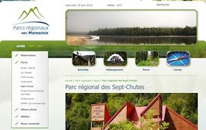 Parc régional des Sept-Chutes - Lanaudière, Saint-Zénon