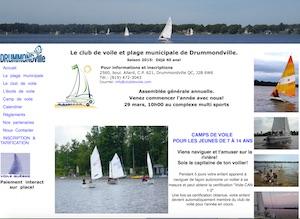 Club de Voile Drummondville Inc. - -Centre-du-Québec-, Drummondville