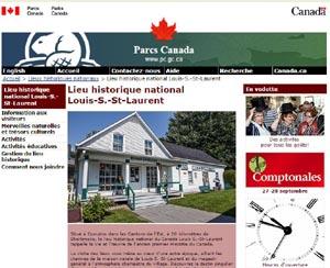 Lieu historique national Louis-S.-St-Laurent (Parcs Canada) - Estrie / Canton de l'est, Compton
