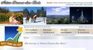 Municipalité de Notre-Dame des-Bois - Estrie / Canton de l'est, Notre-Dame-des-Bois (M)