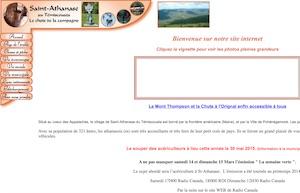 Municipalité de Saint-Athanase - Bas-Saint-Laurent, Saint-Athanase