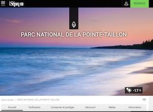 Camping Parc de la Pointe-Taillon (Sépaq) - Saguenay-Lac-Saint-Jean, Saint-Henri-de-Taillon (Lac-St-Jean)