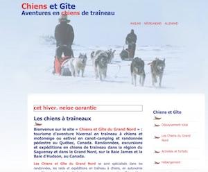 Les Chiens et Gîte du Grand Nord - Saguenay-Lac-Saint-Jean, Saint-David-de-Falardeau (Saguenay)