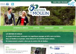 Les Sentiers du Moulin - Capitale-Nationale, Lac-Beauport