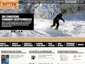 Ski Mont Sutton - Estrie / Canton de l'est, Sutton