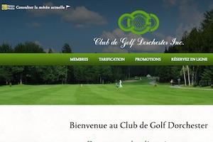Le Club de golf Dorchester - Chaudière-Appalaches, Frampton (Beauce)