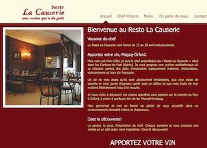 Restaurant Resto La Causerie - Estrie / Canton de l'est, Orford