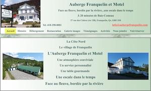 Auberge Franquelin - Côte-Nord / Manicouagan, Franquelin