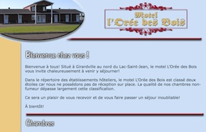 Motel l'Orée des Bois - Saguenay-Lac-Saint-Jean, Girardville (Lac-St-Jean)