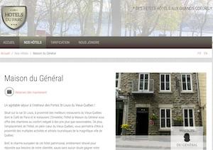 Maison Du Général (Les Hôtels du Parc) - Capitale-Nationale, Ville de Québec (V)