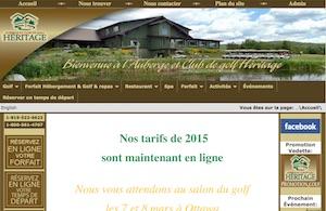 Auberge et Club de Golf Héritage - Outaouais, Notre-Dame-de-la-Paix