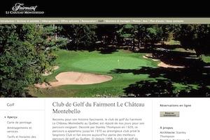 Club de golf du Château Montebello - Outaouais, Montebello