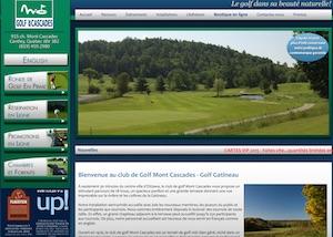 Club de Golf Mont Cascades - Outaouais, Cantley