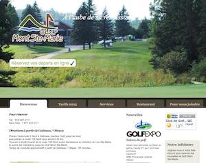 Club de golf Mont Ste-Marie - Outaouais, Lac-Sainte-Marie