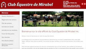 Club équestre de Mirabel - Laurentides, Mirabel (Saint-Augustin)