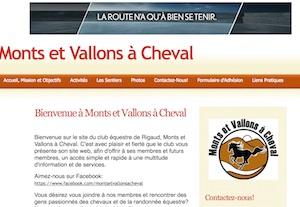 Club Équestre Monts et Vallons à cheval - Montérégie, Rigaud
