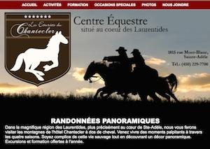 Les Écuries du Chantecler - Laurentides, Sainte-Adèle