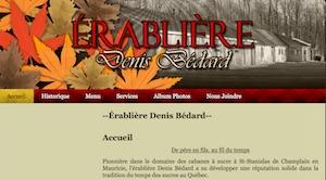 Érablière Denis Bédard (Cabane à Sucre) - Mauricie, Saint-Stanislas-de-Champlain