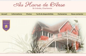 Au Havre de l'Anse - Charlevoix, Saint-Irénée