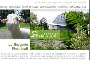Bergerie Fleuriault - Bas-Saint-Laurent, Saint-Gabriel-de-Rimouski
