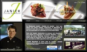 Restaurant Janick - Montérégie, Beloeil