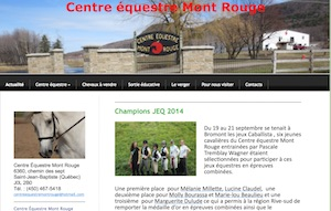 Centre Équestre Mont Rouge - Montérégie, Saint-Jean-Baptiste-de-Rouville
