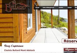 Bullard Villégiature Mont Adstock - Chaudière-Appalaches, Adstock (Région de Thetford) (Saint-Méthode-de-Frontenac)