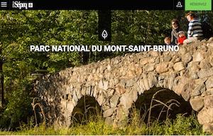 Parc du Mont-Saint-Bruno (Sépaq) - Montérégie, Saint-Bruno-de-Montarville