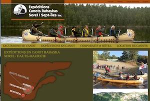 Expéditions Canots Rabaskas Sorel/Sept-Iles inc. - Montérégie, Ste-Anne