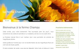 Ferme Champy - Montérégie, Upton