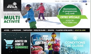 Station de ski Mont-Avila - Laurentides, Piedmont