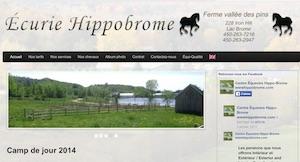Écurie Hippobrome - Estrie / Canton de l'est, Lac-Brome