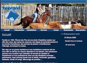 Écurie des Pins - -Centre-du-Québec-, Sainte-Françoise-de-Lotbinière