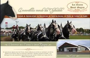 Les Écuries Daniel Gingras - Chaudière-Appalaches, Saint-Flavien (Lotbinière)