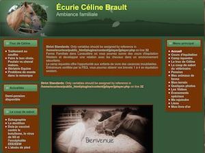 Écurie Céline Brault - Lanaudière, Saint-Alexis-de-Montcalm