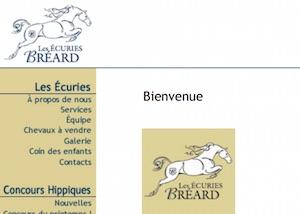 Les Écuries Bréard - Montérégie, Varennes