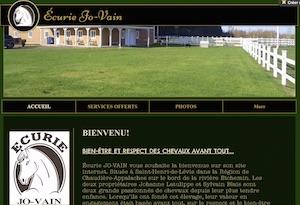 Écurie JO-VAIN - Chaudière-Appalaches, Lévis (Lévis) (Desjardins)