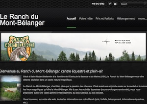 Le Ranch du Mont-Bélanger - Estrie / Canton de l'est, Saint-Robert-Bellarmin (M)