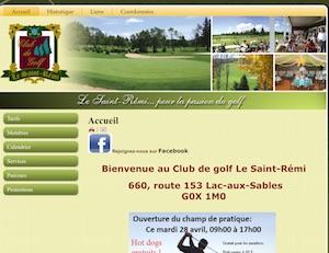 Club de golf le Saint-Rémi - Mauricie, Lac-aux-Sables