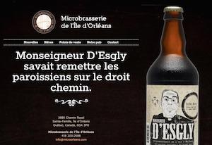 Microbrasserie de l'Île d'Orléans (Pub Le Mitan) - Capitale-Nationale, Sainte-Famille-de-l'Île-d'Orléans