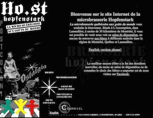 Microbrasserie Hopfenstark - Lanaudière, L'Assomption