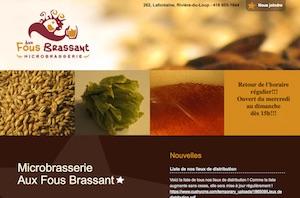 Aux Fous Brassant - Bas-Saint-Laurent, Rivière-du-Loup