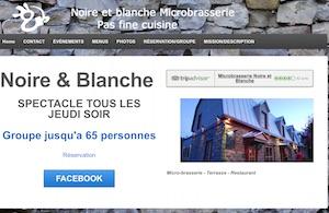 Microbrasserie Noire et Blanche - Laurentides, Saint-Eustache